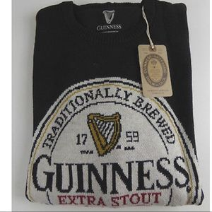 Guinness Stout Irish Beer Lucky Brand Knit Sweater